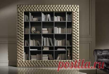 Книжные шкафы для кабинета от итальянских фабрик | flqu.ru - квартирный вопрос. Блог о дизайне, ремонте