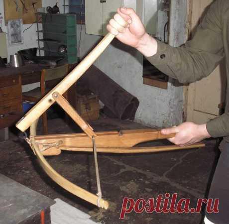 Изготовление арбалета в домашних условиях