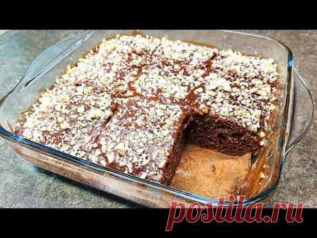 Мама научила и не зря - теперь этот пирог больше чем традиция на среду: нежный шоколадный пирог без возни. | Ольга Лунгу | Яндекс Дзен