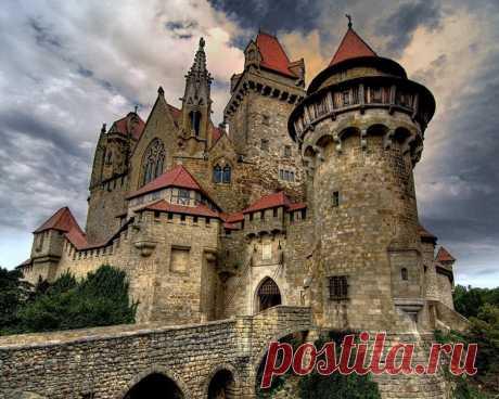 Замок Кройценштайн. Австрия — Путешествия