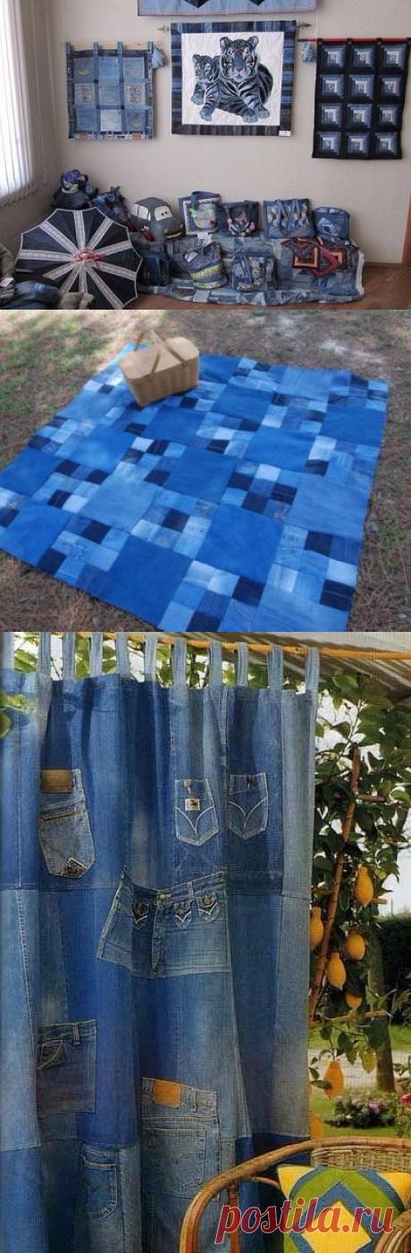 Креативные идеи по переделке старой джинсовой одежды: идеи — Сделай сам, идеи для творчества - DIY Ideas