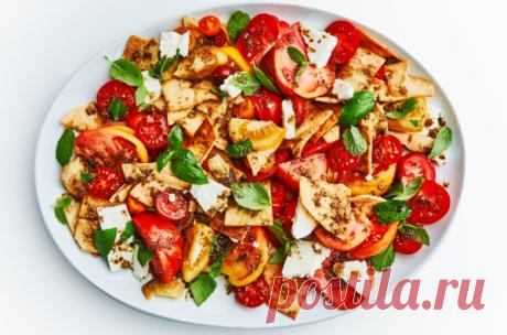 Необычный и красивый салат из помидоров | Вилка.Ложка. Палочки | Яндекс Дзен