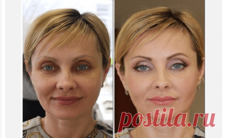 Make-up after 45 which threshes: the step-by-step instruction — Kopilochka of useful tips