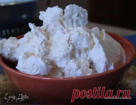 Творожок из йогурта. Ингредиенты: йогурт натуральный, молоко 6% | Официальный сайт кулинарных рецептов Юлии Высоцкой