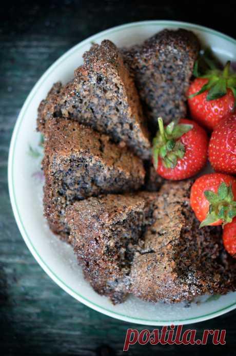 Этот пирог с маковой начинкой — взрыв вкуса! | Вкусные рецепты