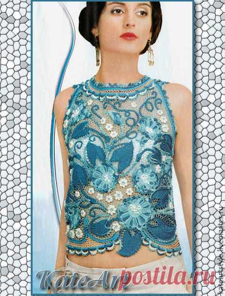 цитата Сима_Пекер : Вяжем цветы и пейсли в тунисской технике для ирландского кружева (08:10 16-06-2020) [3798319/471522962] • ninanina345@ukr.net