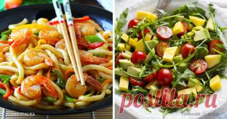 7 most tasty dinners for which you will spend less than 20 minutes
