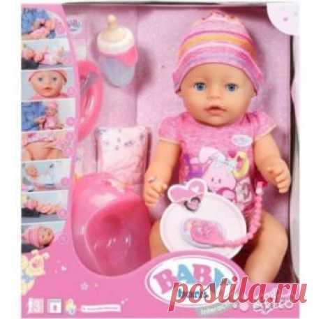Пупсы Baby Born : Кукла Интерактивная Baby born (Бэби Борн) 823-163, 43 см