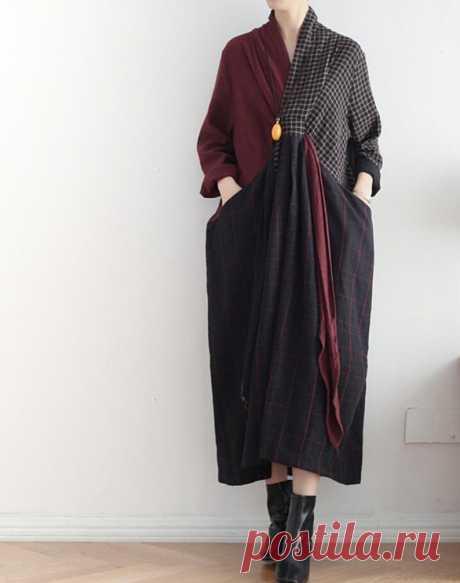 Linen long dress Loose Fitting Maxi Dress women dresses   Etsy