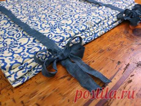 Делаем римские шторы своими руками: навыки шитья для этого способа не нужны