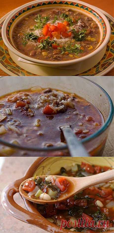 Мясные супы: 6 простых и интересных рецептов / Простые рецепты