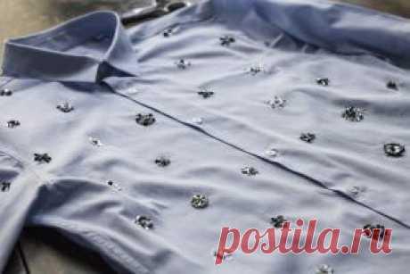 Вышивка бисером на одежде (схемы и фото)