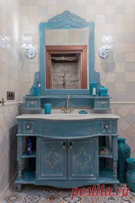 Ванная комната в стиле прованс: 80+ потрясающих интерьеров (2019)