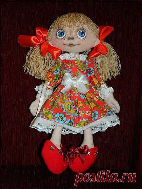 Мк по текстильной кукле.