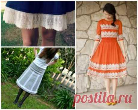 Как удлинить юбку: пошаговая инструкция, простые способы, советы мастеров