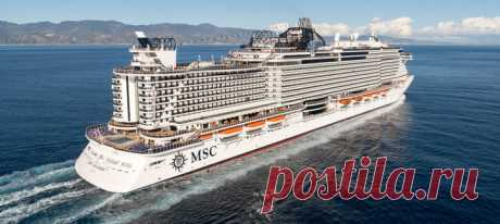 The MSC Seaside cruise liner … (6 photos)   PulsON — all most interesting events in the world.