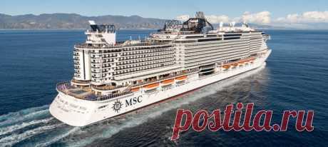 Круизный лайнер «MSC Seaside»… (6 фото)   PulsON — все самые интересные события в мире.