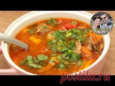 ЧОРБА. Суп, который поражает невероятным вкусом. Ну очень простой рецепт.