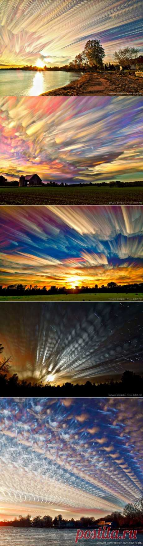 Фантастическое небо: от таких закатов и рассветов можно сойти с ума! » Большие фото: ты увидишь мир