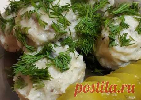 Картофельные клецки с грибами Автор рецепта Екатерина Звекова - Cookpad