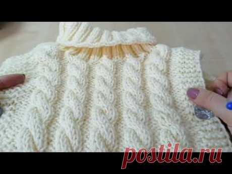 Дополнение к мастер-классу по вязанию пончо-жилетки для девочки. Расчёты на все размеры