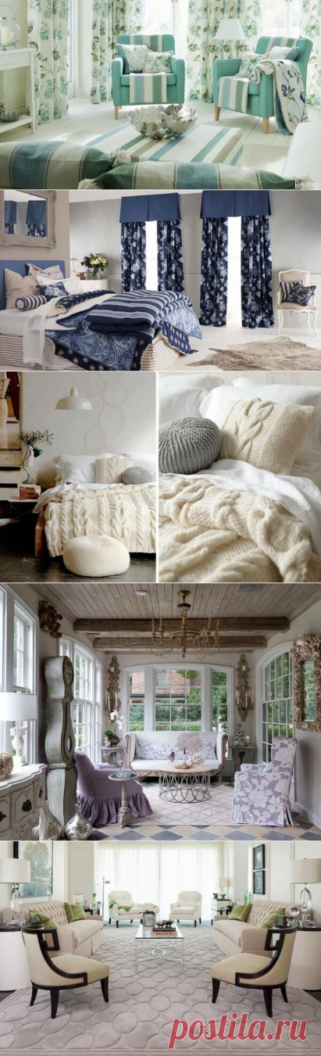 Создаем уют: текстиль в интерьере | flqu.ru - квартирный вопрос. Блог о дизайне, ремонте