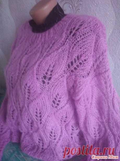 Мохеровый свитер - Вязание - Страна Мам