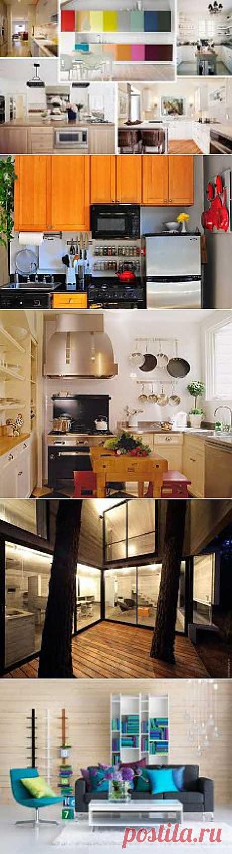 Практичные идеи для маленьких кухонь (Часть 1) | Интерьер и Дизайн