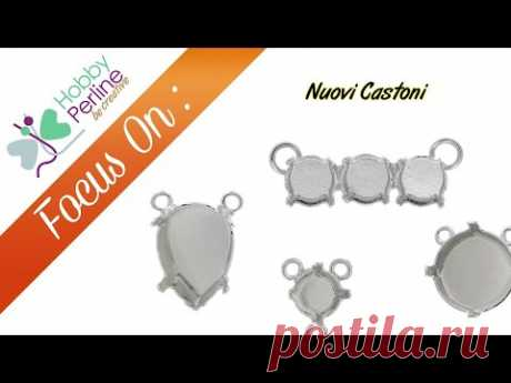 Nuovi Castoni | FOCUS ON - HobbyPerline.com