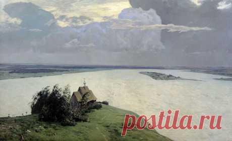 Медитативные полотна Левитана