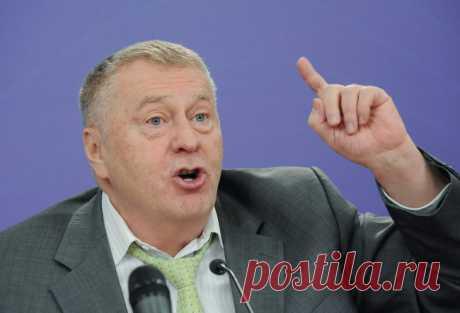 Жириновский об украинцах, ругающих Путина