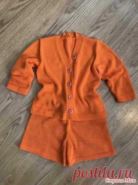 Апельсин) - Машинное вязание - Страна Мам