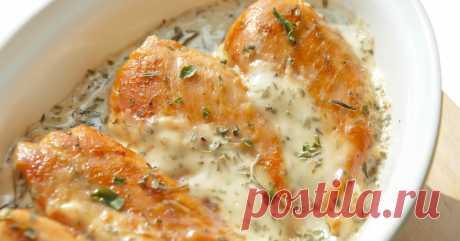 Курица в кефирном маринаде-ужин, который подарит легкость