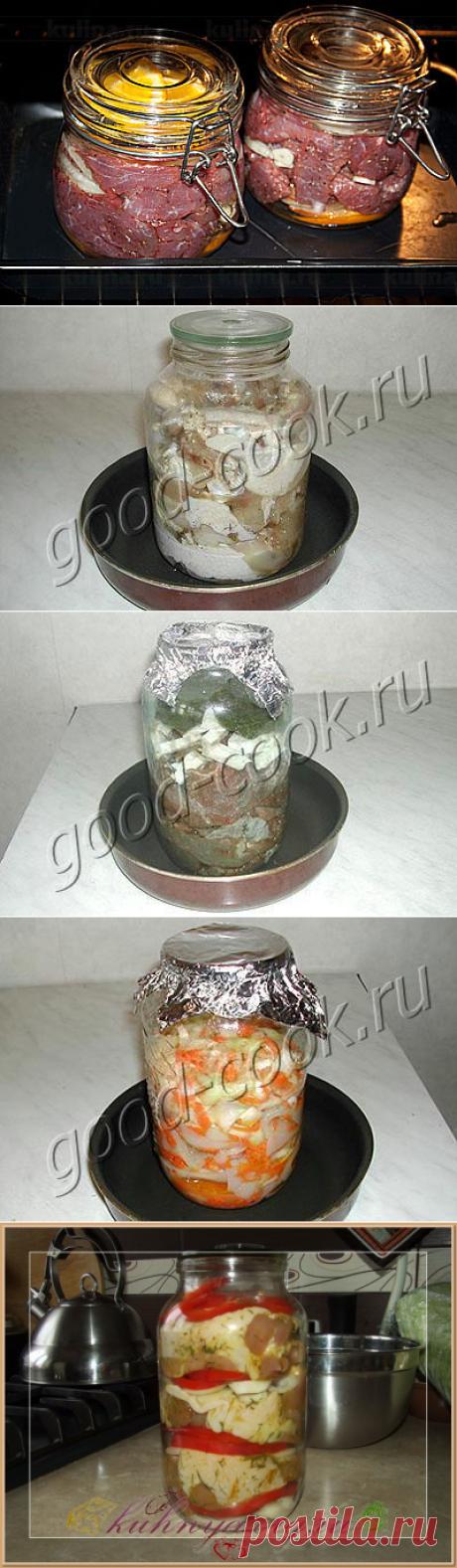 Приготовление еды в стеклянных банках – способ сохранить все полезные свойства продуктов. Рецепты приготовления. Много и разных.Обсуждение на LiveInternet - Российский Сервис Онлайн-Дневников