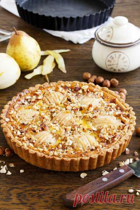"""Грушевый пирог... из замечательной книги """"Италия. Еда и дольче вита."""" - Люблю готовить. — LiveJournal"""