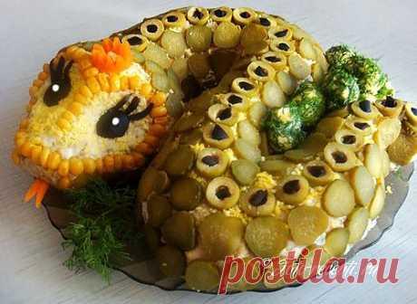(+1) тема - Салат «Змейка» | Любимые рецепты