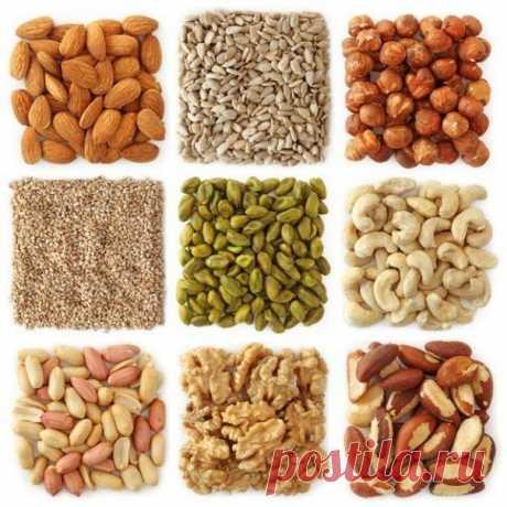 Чем полезны орехи? Сохраните, чтобы не забыть! | Вкуснолог...