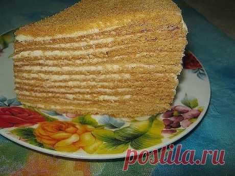 Торт рыжик.  — Sloosh – кулинарные рецепты