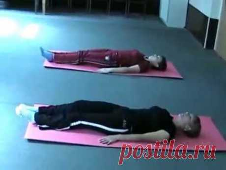 La gimnasia médica a la artrosis de la articulación coxal. El complejo completo de los ejercicios