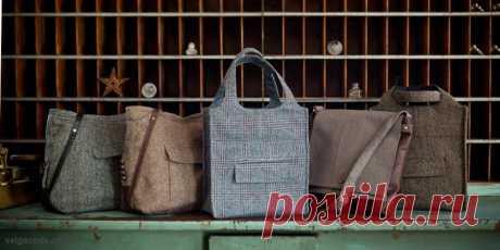 Стильные сумки из старых пиджаков | Рукоделие