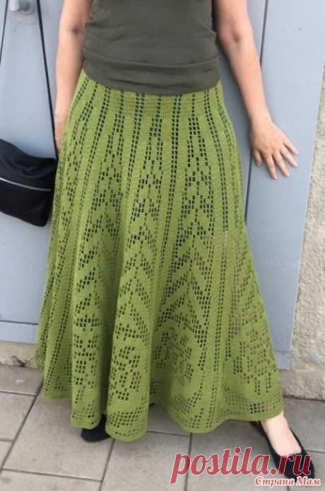 Летняя юбка для женщин крючком