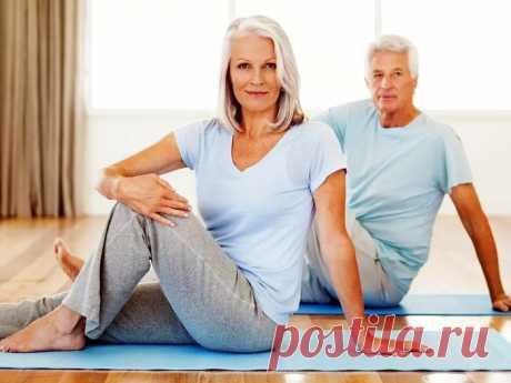 Простые упражнения для пожилых людей в условиях дома