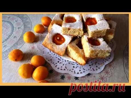 Летний Пирог с Абрикосами, Вкусный, Ароматный Пирог для Домашнего Чаепития!