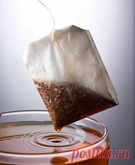 10 способов использования чайных пакетиков.