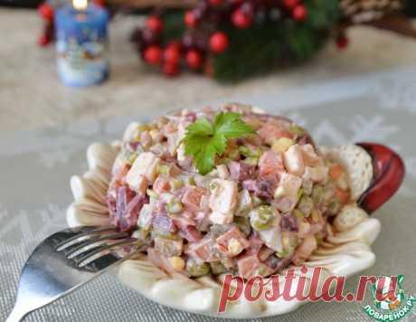 Салат из свеклы с плавленым сыром – кулинарный рецепт