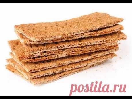 Как сделать диетические хлебцы
