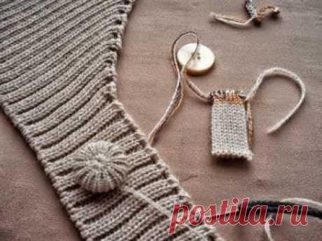 Модели вязания со схемами и описаниями: Пуловер с ажурными рукавами и воротником Каскад