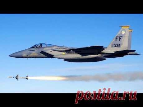 F-15 упустил неопознанный самолет в небе над США - YouTube