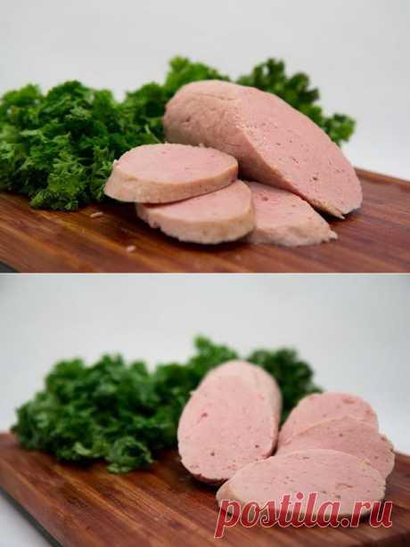 Мясные блюда: Деликатесная колбаса из кролика