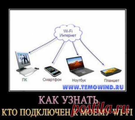 Как узнать кто подключен к моему WiFi | Блог Дмитрия Валиахметова | Компьютер для чайников